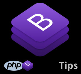 PHP Bootstrap Tips